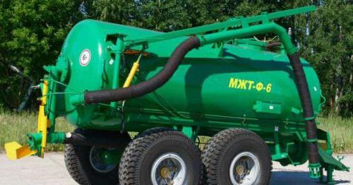 Машина для внесения жидких органических удобрений МЖТ Ф 6