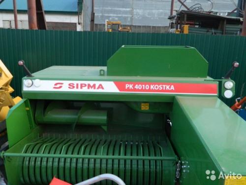 Пресс подборщики тюковые SIPMA PK 4010 KOSTKA