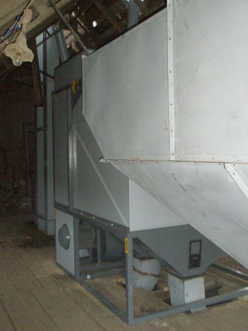 Машина для очистки и калибровки зерна АЛМАЗ МС 100/70 Сепарирующая машина