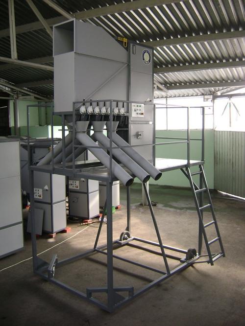 Машина для очистки и калибровки зерна АЛМАЗ МС 10/5 Сепарирующая машина