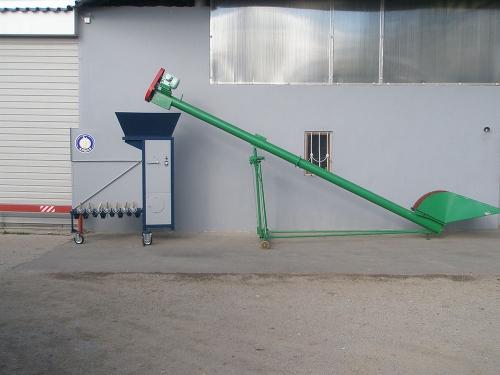 Машина для очистки и калибровки зерна АЛМАЗ МС 4 * 2 Сепарирующая машина