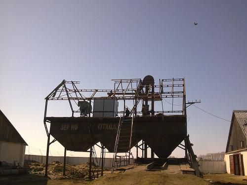 Машина для очистки и калибровки зерна АЛМАЗ МС 50/30 Сепарирующая машина