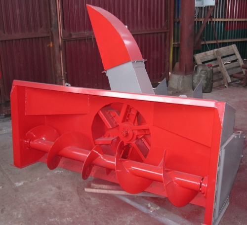 Снегоочиститель СШР 2,0 задняя навеска Шнекоротор