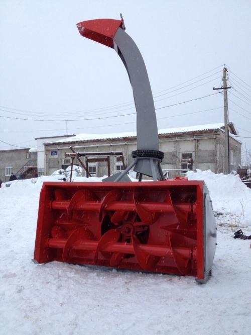 Снегоочиститель СШР 2,0ПМ передняя навеска Шнекоротор