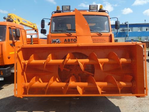 Снегоочиститель шнекороторный навесной СШР 2,6Г на базе Камаз