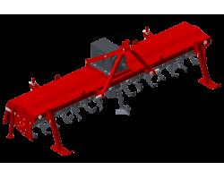 Почвофреза навесная усиленная ФРН-3К