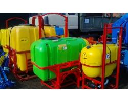 Опрыскиватели навесные от 200 до 1000 литров
