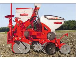 Пневматическая сеялка точного высева QUIVOGNE - нулевая обработка почвы